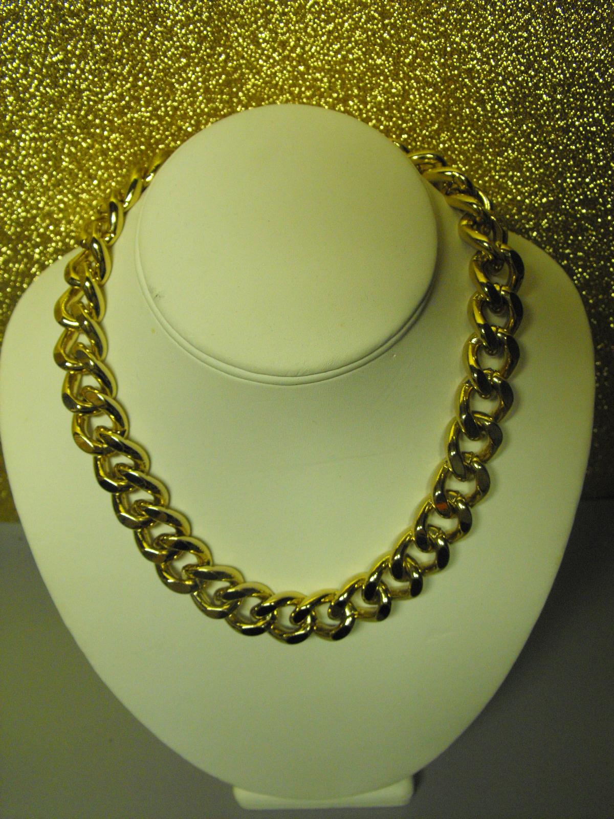 Jones New York Brass Curb Link Necklace Clive S Unique